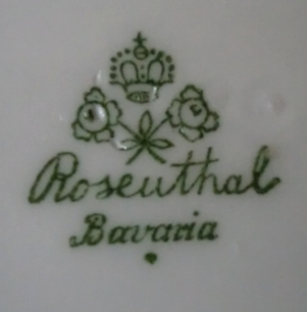 Dating rosenthal china